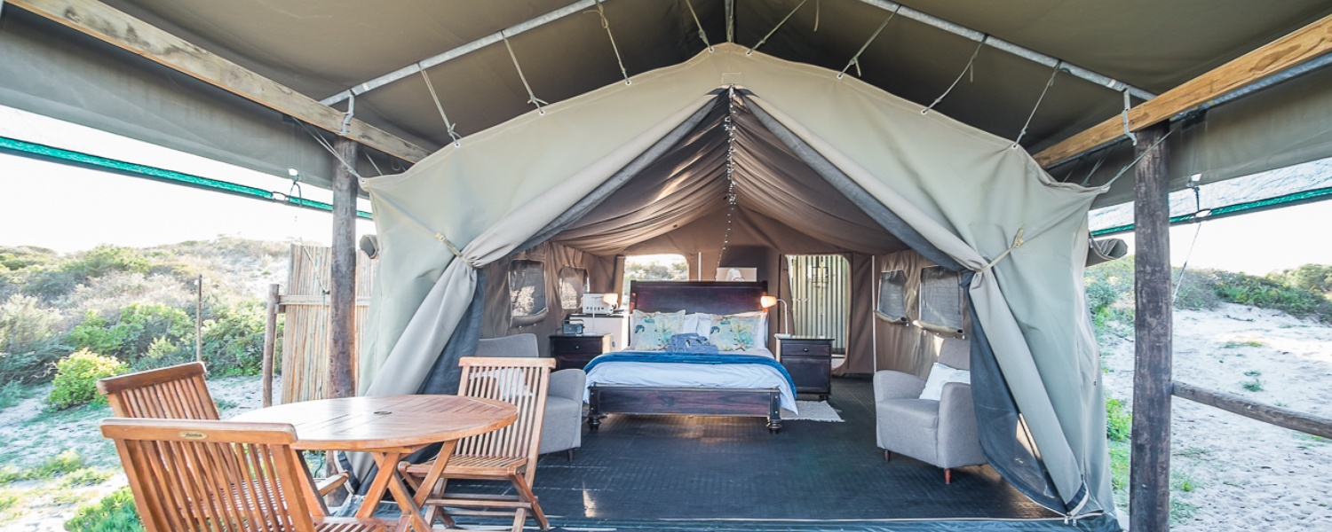 Luxury Self-Catering Beach Tents